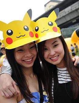 泰國舉行皮卡丘派對
