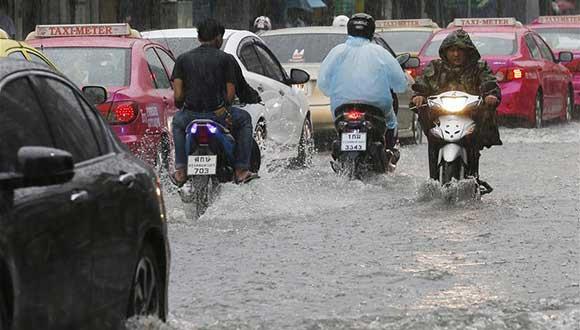 泰國多地仍將有大到暴雨