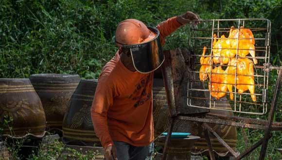 泰國:帶你感受太陽能烤雞