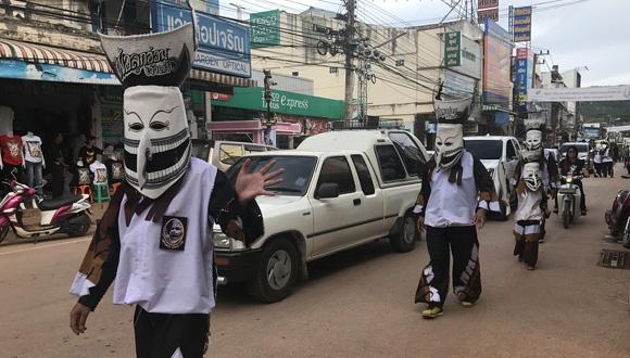 別具特色的泰國鬼臉節