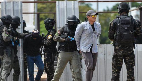 泰國舉行緝毒演練