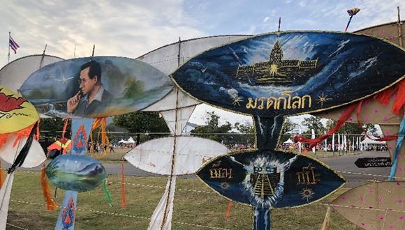 碧空飛彩鳶——華欣迎來國際風箏節