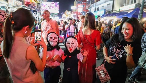 曼谷舉行萬聖節慶祝活動
