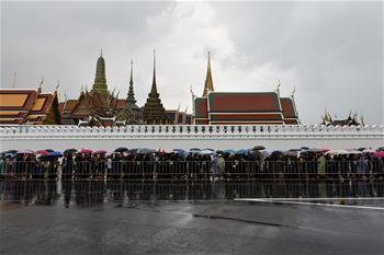 泰國民眾悼念普密蓬國王逝世一周年
