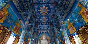泰國清萊:藍廟(組圖)