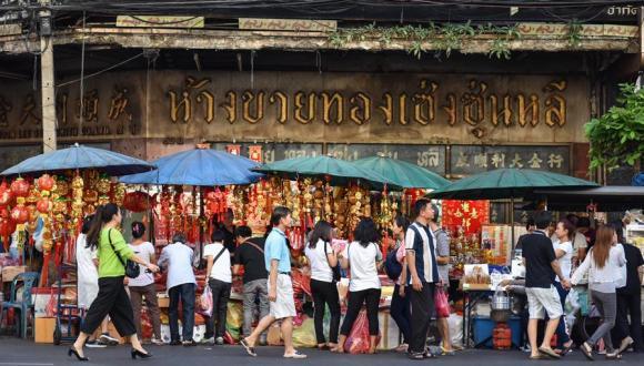 曼谷唐人街:購年貨 迎春節