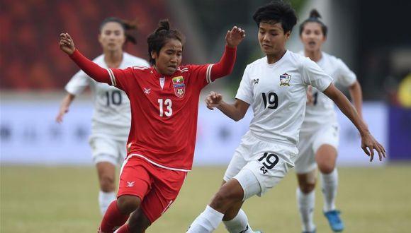 国际女足锦标赛:泰国胜缅甸